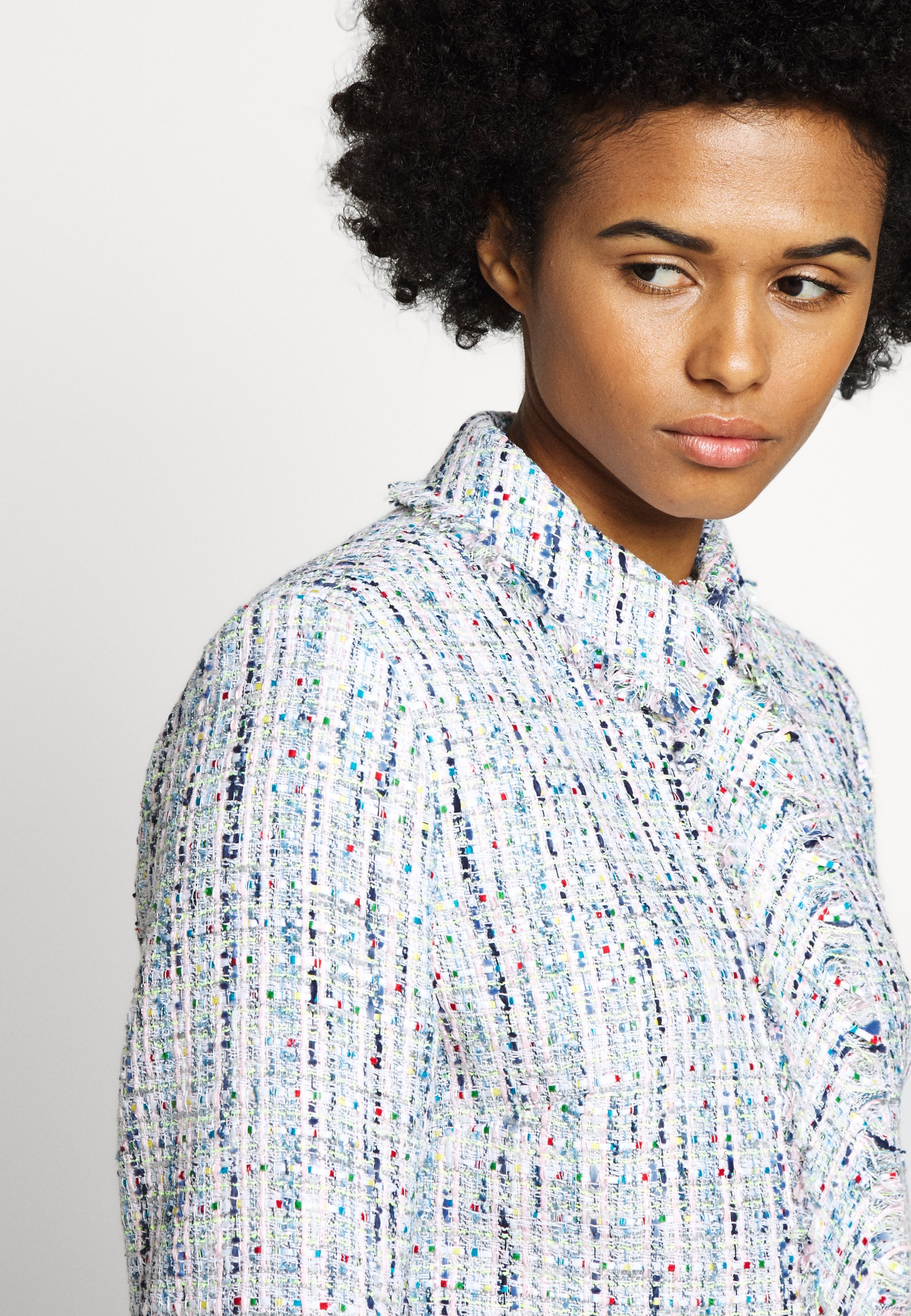 Karl Lagerfeld Classic Jacket - Kevyt Takki Light Blue
