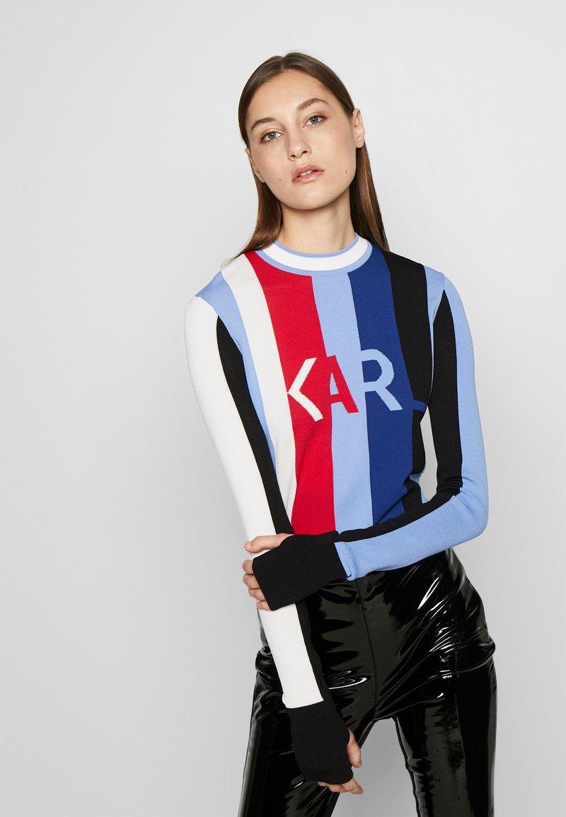 KARL LAGERFELD - Trui - light blue