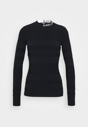 LIGHT WEIGHT LOGO - Pullover - black