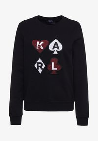 KARL LAGERFELD - Collegepaita - black - 3