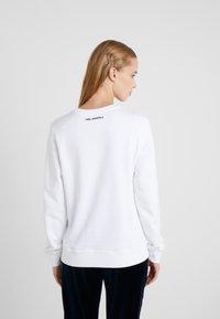 KARL LAGERFELD - KARL & CHOUPETTE  - Sweater - white - 2