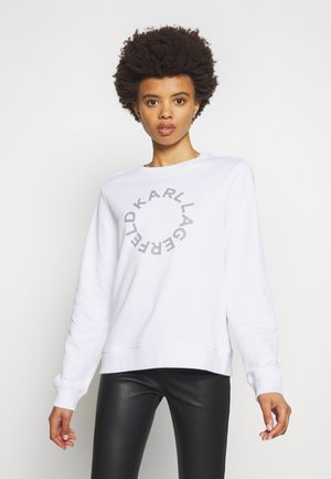 CIRCLE LOGO - Sweatshirt - white
