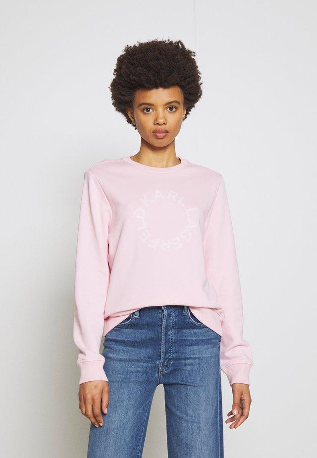 CIRCLE LOGO - Sweatshirt - pink