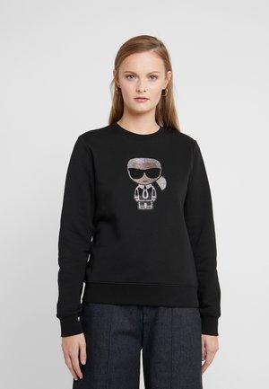 IKONIK RHINESTONE - Sweatshirt - black