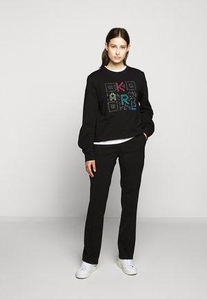 PIXEL CODE - Sweatshirt - black