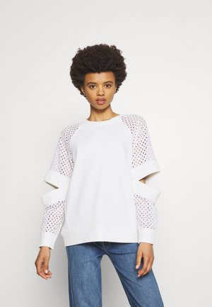 CUT OUT - Sudadera - white