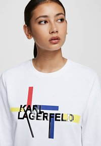 KARL LAGERFELD - BAUHAUS  - Sweatshirt - white - 4