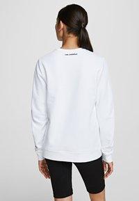 KARL LAGERFELD - BAUHAUS  - Sweatshirt - white - 2