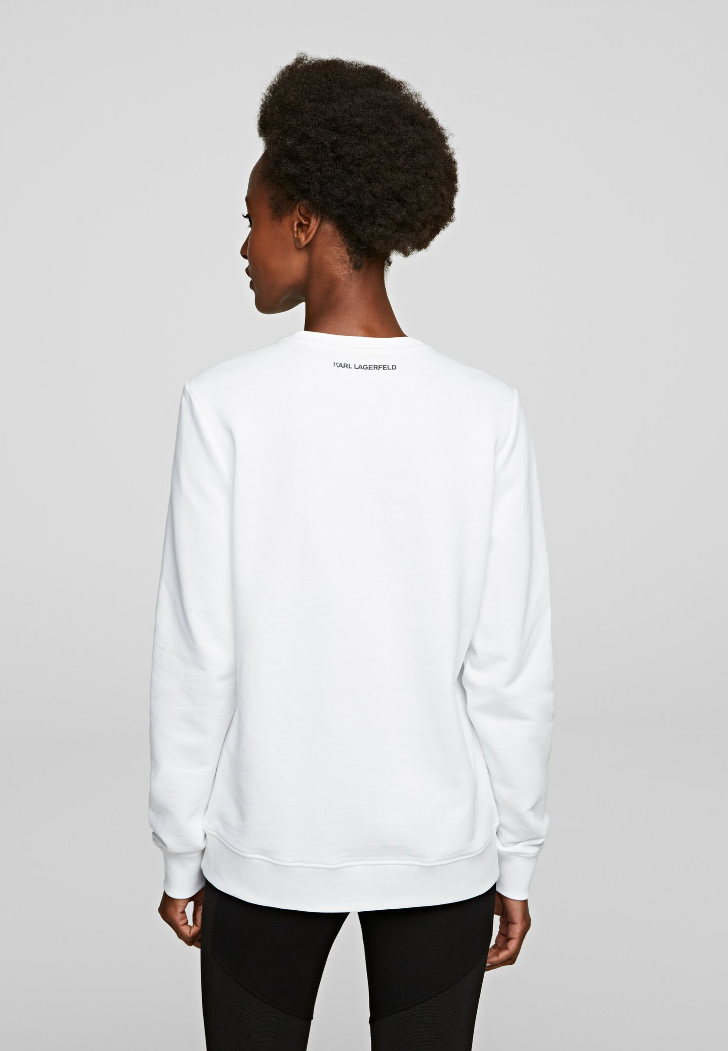 KARL LAGERFELD Bluza - white