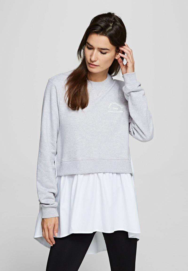 KARL LAGERFELD - Sweatshirt - grey melange