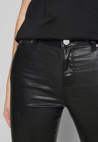 KARL LAGERFELD - COATED - Skinny džíny - black - 5