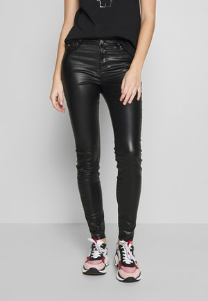 COATED - Jeans Skinny Fit - black