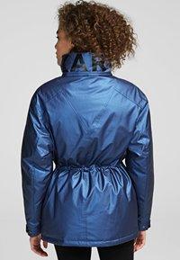 KARL LAGERFELD - Down coat - metallic blue - 1