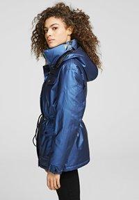 KARL LAGERFELD - Down coat - metallic blue - 2