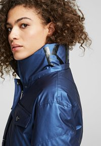 KARL LAGERFELD - Down coat - metallic blue - 3