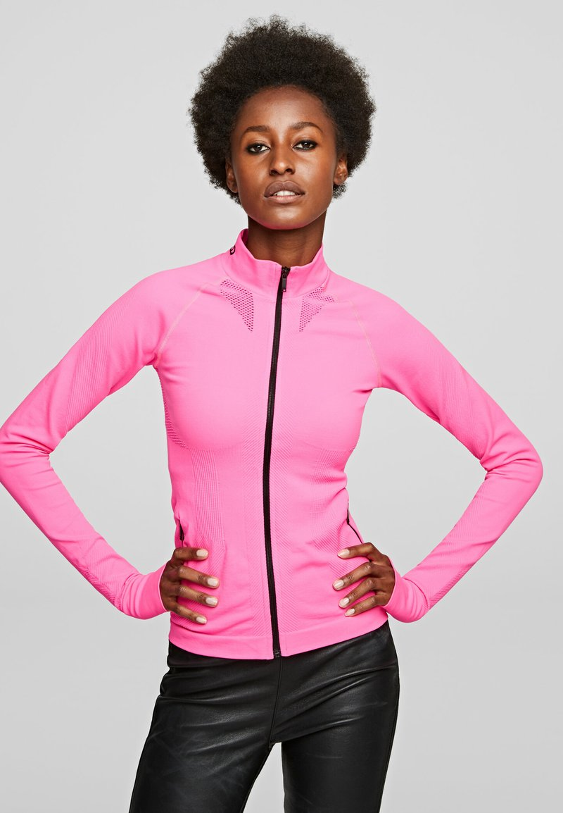 KARL LAGERFELD - R.ST-GUILLAUME  - Trainingsvest - bright pink