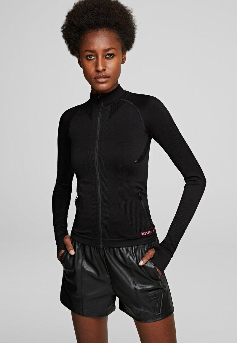 KARL LAGERFELD - R.ST-GUILLAUME  - Training jacket - black