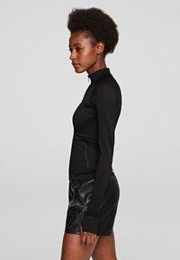 KARL LAGERFELD - R.ST-GUILLAUME  - Training jacket - black - 3