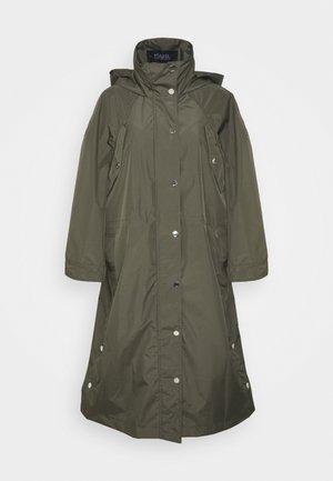 RAIN PONCHO WATERPROOF - Impermeabile - khaki