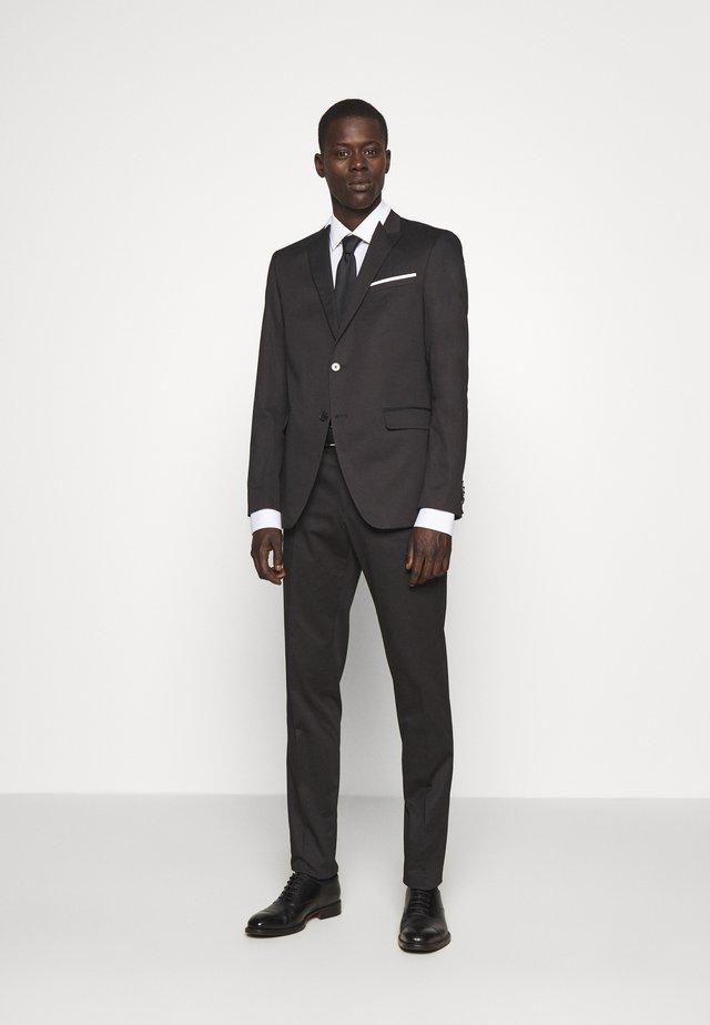 SUIT VIBRANT - Kostym - black