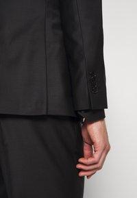 KARL LAGERFELD - SUIT FUN - Suit - black/burgundy - 11