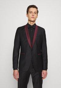 KARL LAGERFELD - SUIT FUN - Suit - black/burgundy - 2