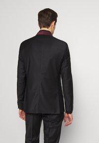 KARL LAGERFELD - SUIT FUN - Suit - black/burgundy - 3