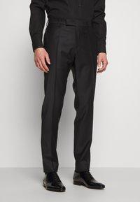KARL LAGERFELD - SUIT FUN - Suit - black/burgundy - 4