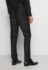KARL LAGERFELD - SUIT FUN - Suit - black/burgundy - 5