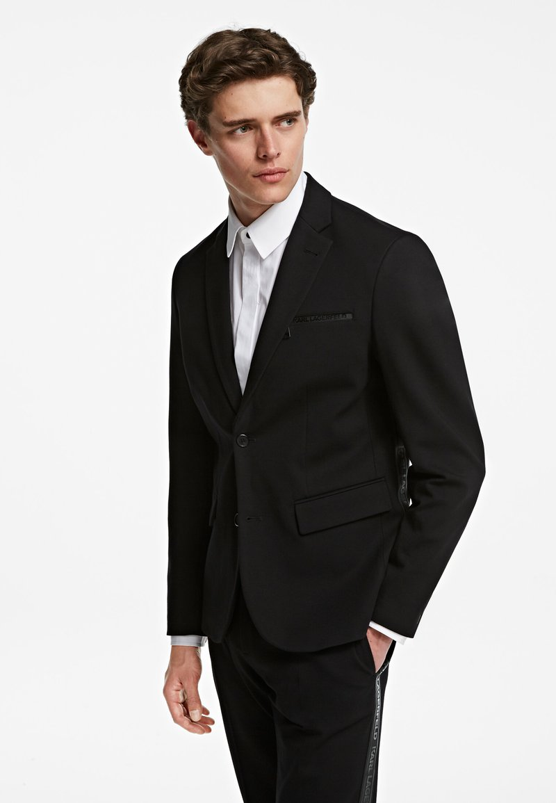 KARL LAGERFELD - PUNTO - Blazer jacket - black