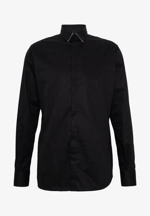 MODERN FIT - Zakelijk overhemd - black
