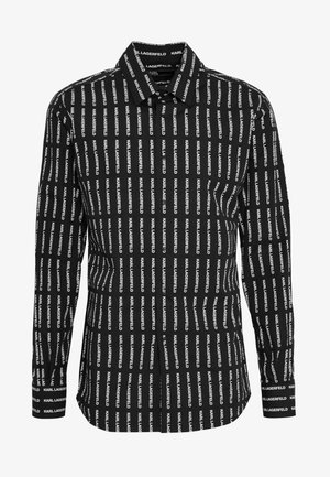 MODERN FIT - Shirt - black