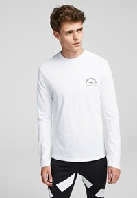 KARL LAGERFELD - KARL LAGERFELD RUE - Langærmede T-shirts - white - 0