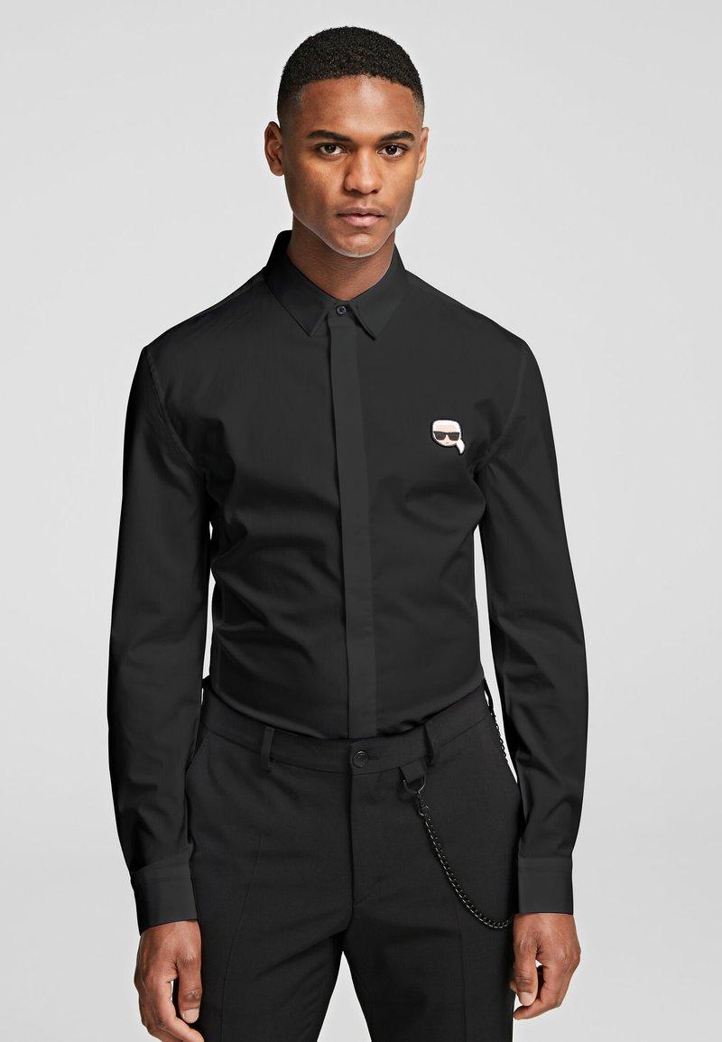KARL LAGERFELD - IKONIK  - Shirt - black