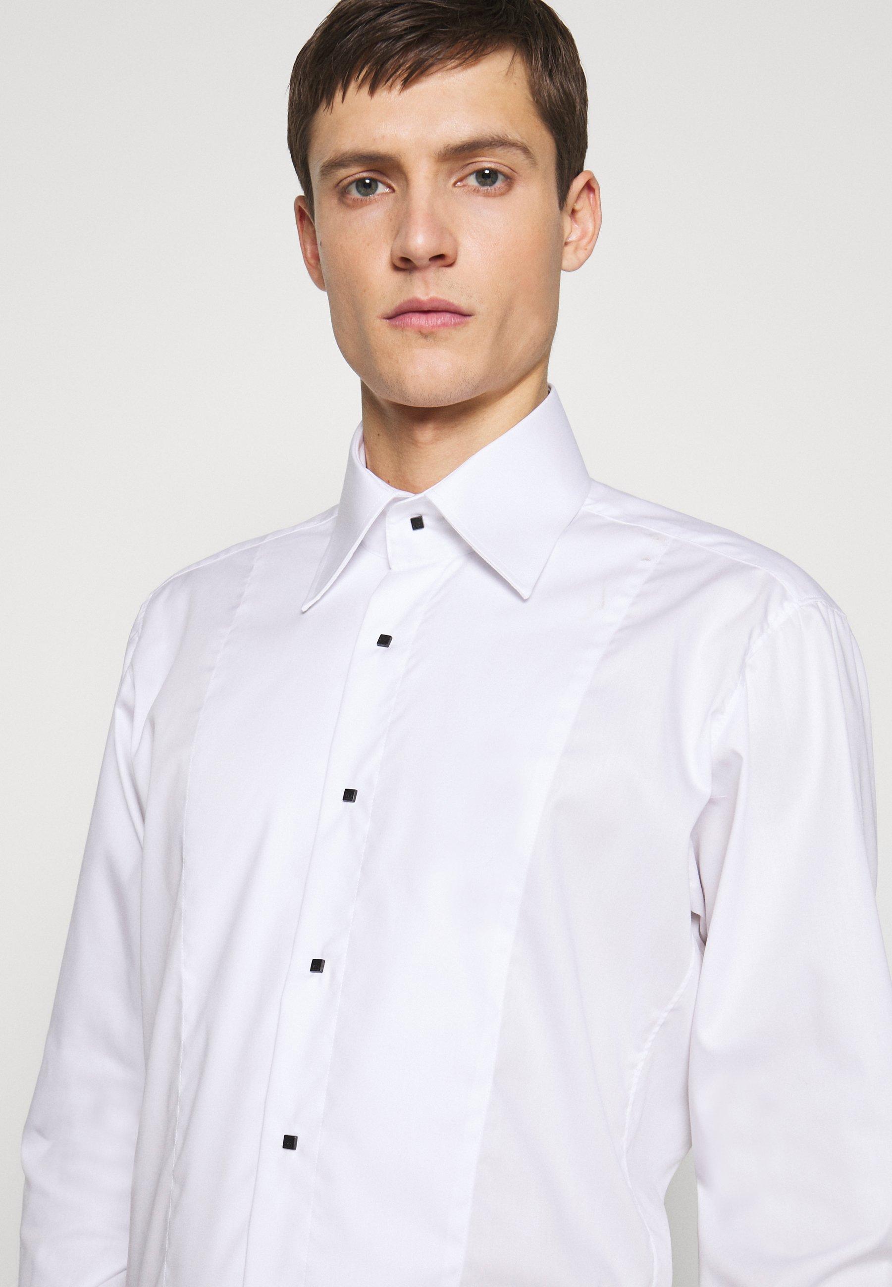 KARL LAGERFELD SHIRT MODERN FIT - Koszula - white