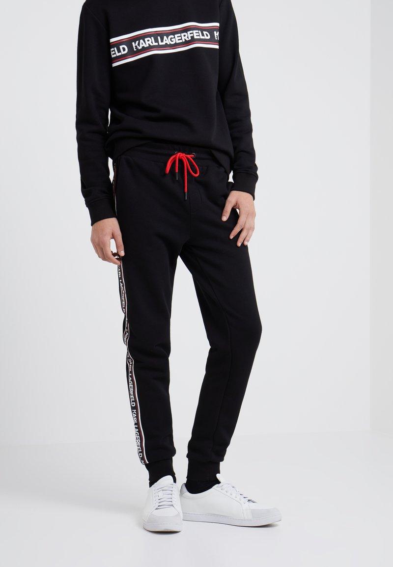 KARL LAGERFELD - Træningsbukser - black