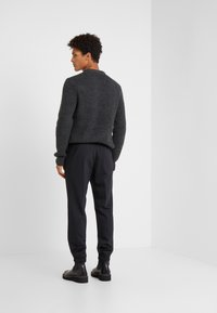 KARL LAGERFELD - TROUSERS CHASE - Kalhoty - black - 2