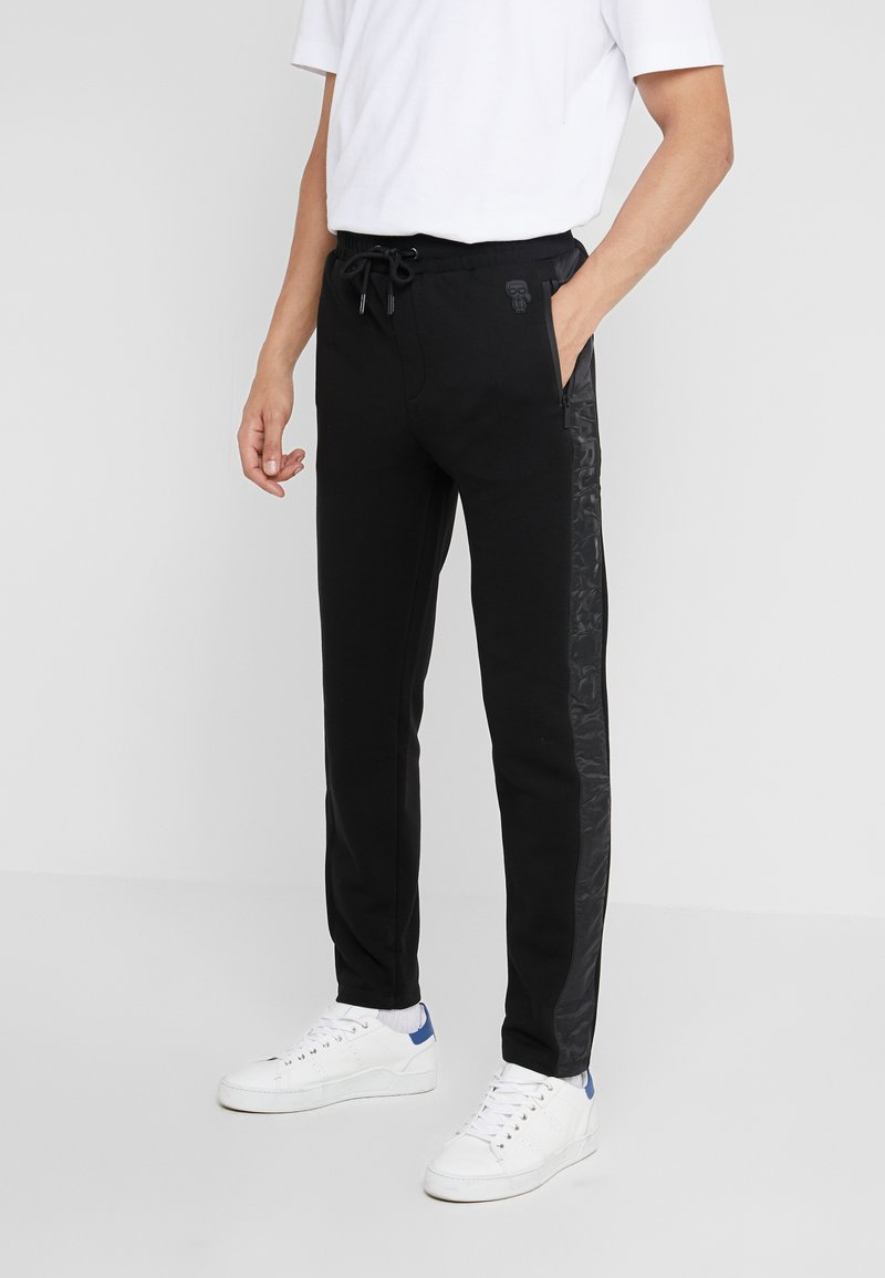 KARL LAGERFELD - PANTS - Pantalon de survêtement - black