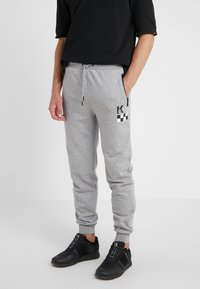 KARL LAGERFELD - PANTS - Pantalon de survêtement - grey - 0