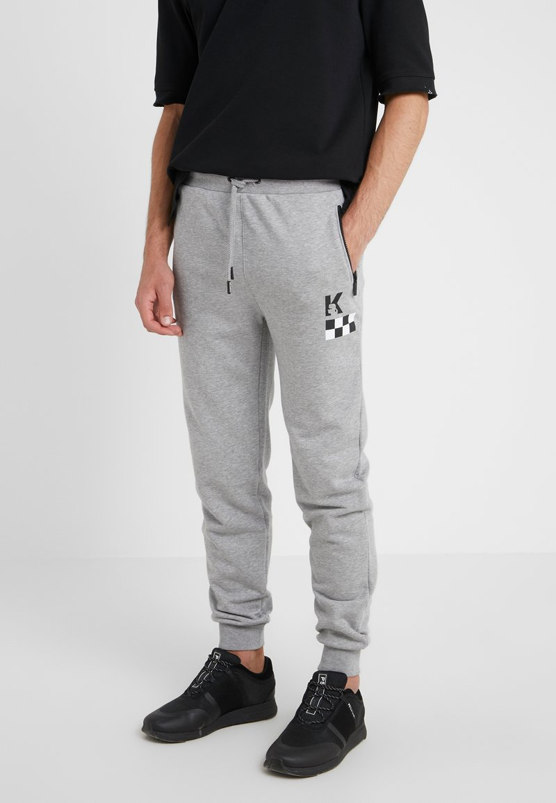 KARL LAGERFELD - PANTS - Pantalon de survêtement - grey