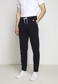 KARL LAGERFELD - PANTS - Pantalon de survêtement - navy - 2