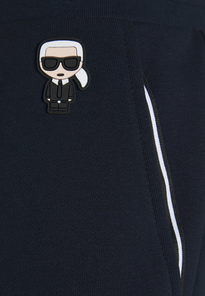 KARL LAGERFELD - PANTS - Pantalon de survêtement - navy