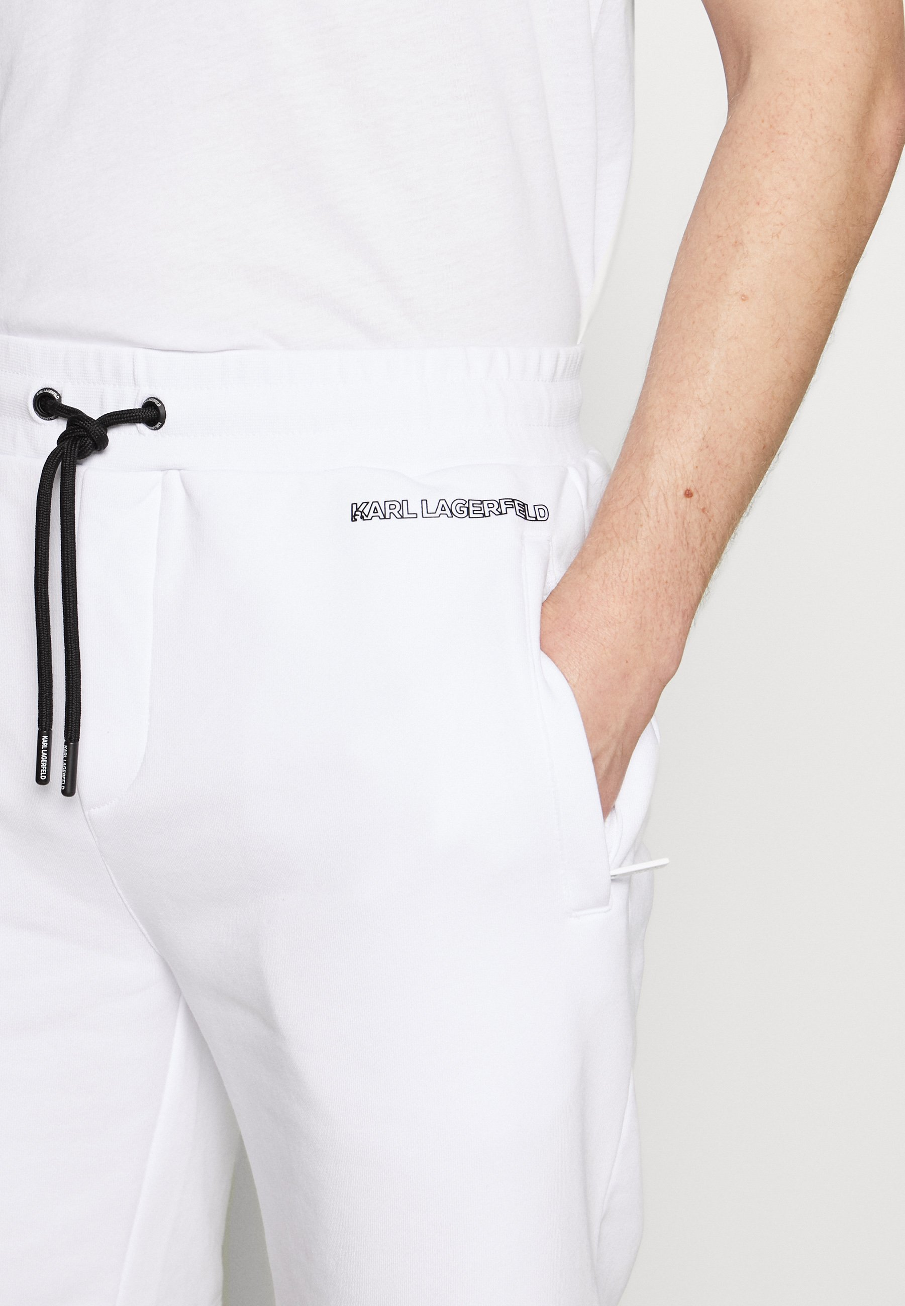 Karl Lagerfeld Shorts - White Black Friday