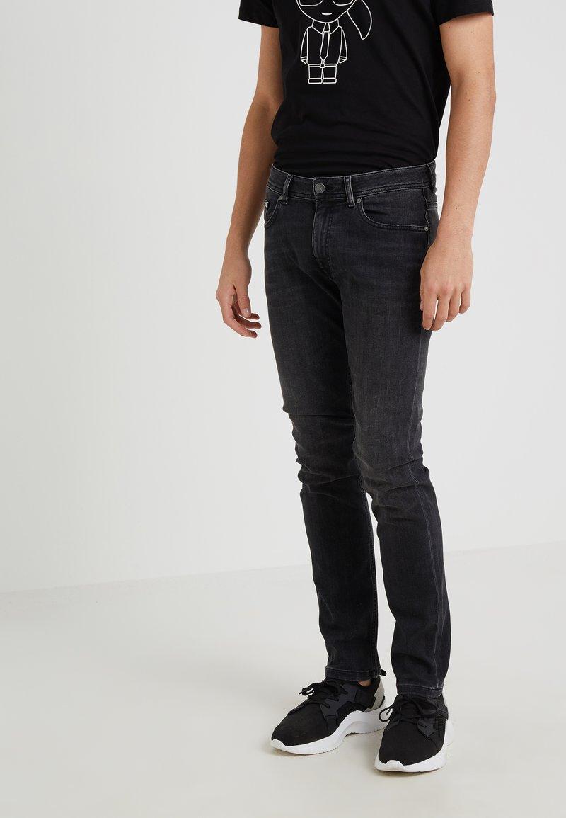 KARL LAGERFELD - Vaqueros slim fit - black