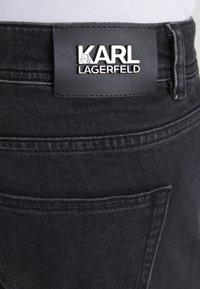 KARL LAGERFELD - Džíny Slim Fit - black denim - 5