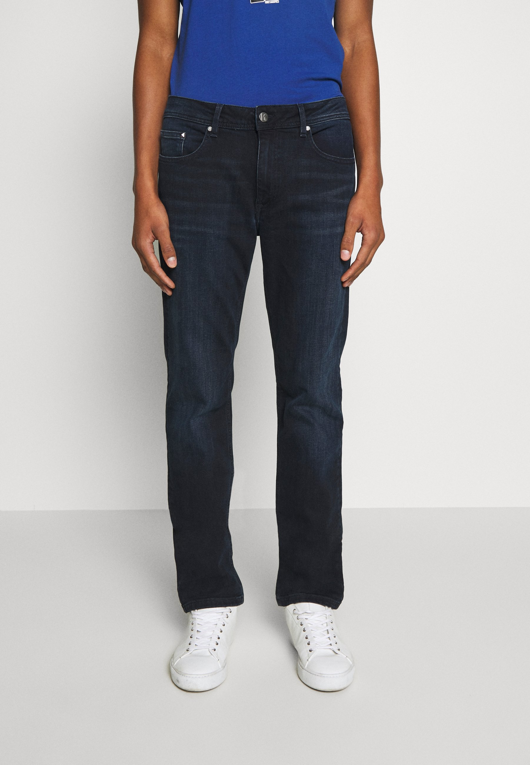 KARL LAGERFELD Jeansy Slim Fit - navy