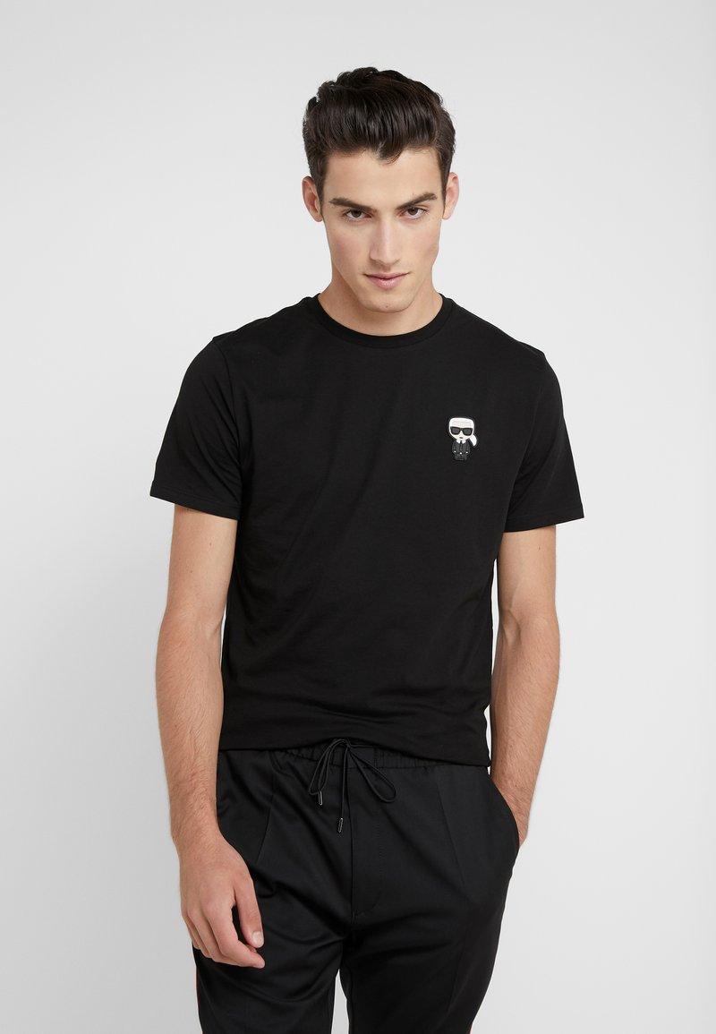 KARL LAGERFELD - CREWNECK - T-Shirt basic - black