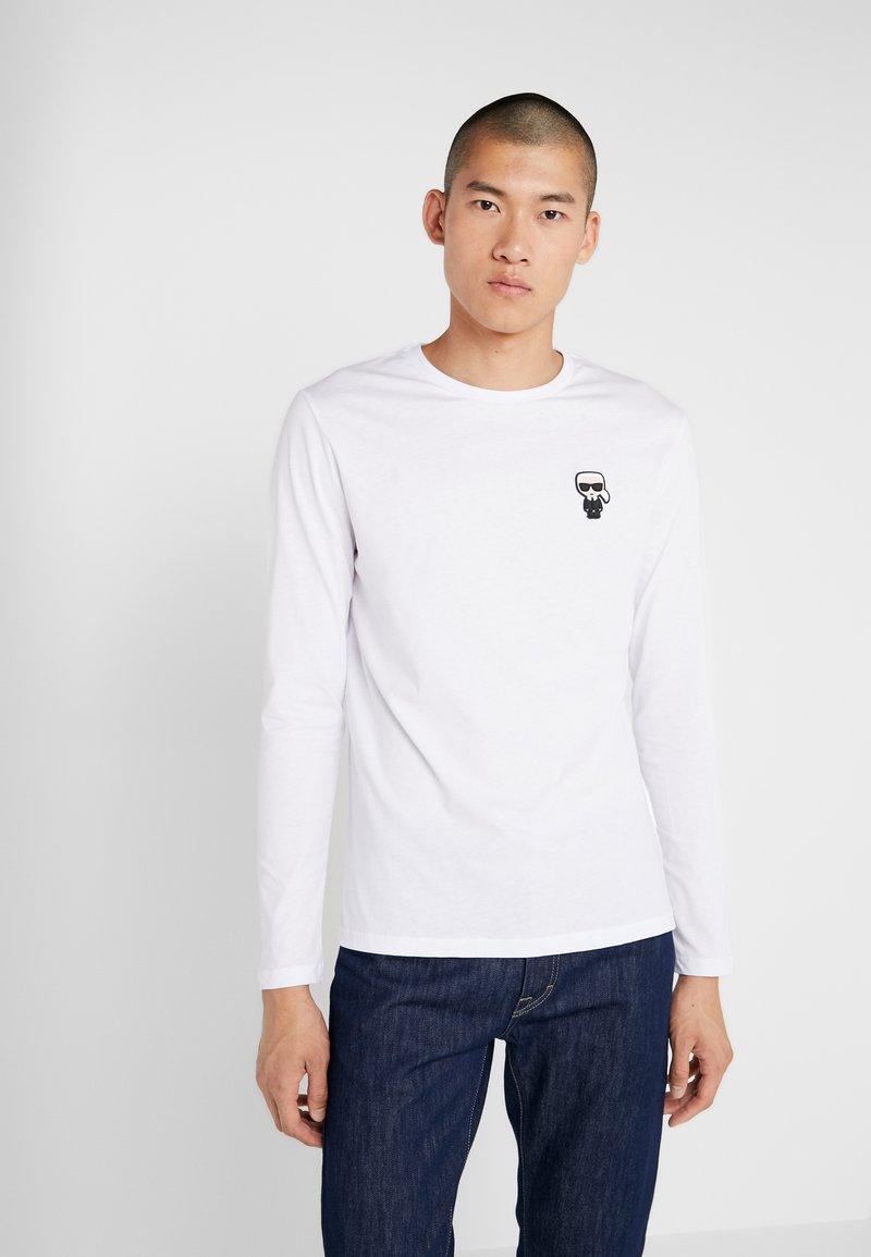 KARL LAGERFELD - LONGSLEEVE - Camiseta de manga larga - white