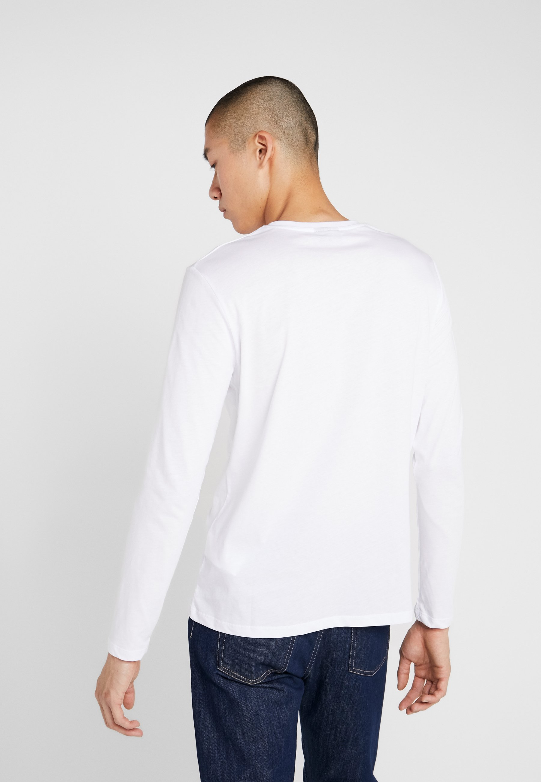 Longues LongsleeveT Manches À Karl shirt White Lagerfeld mnv8wONy0