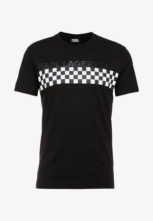 CREWNECK - T-shirt z nadrukiem - black